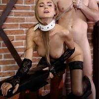 Obedient slave Nancy